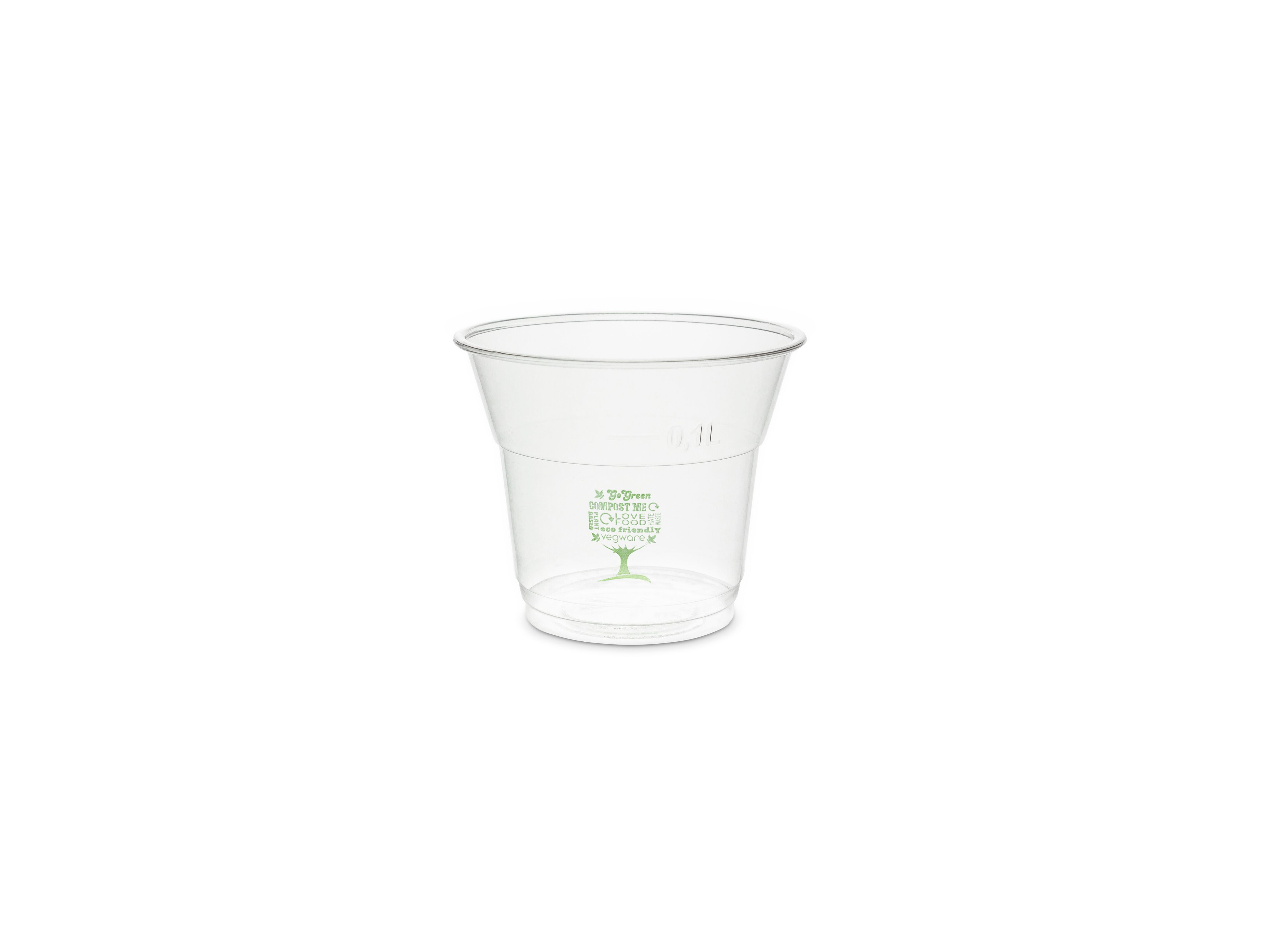 5oz PLA cold cup, 76-Series - Green Tree